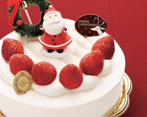 苺のふんわりショートケーキ
